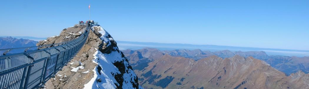 Peak Walk entre deux sommets à 3000 mètres