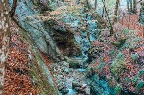Les Gorges de Covatannaz: balade automnale