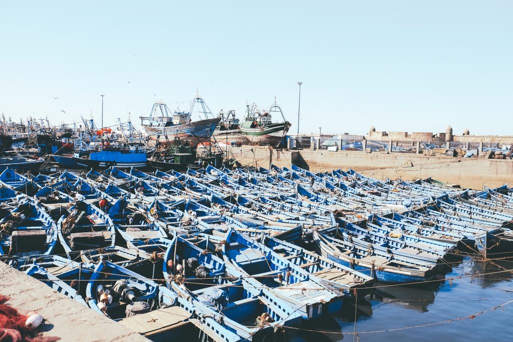 Essaouira-port-bateaux