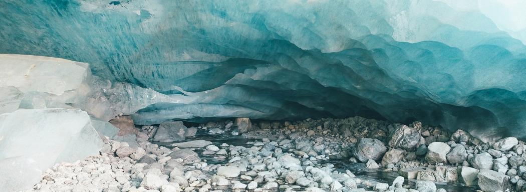 La grotte de glace de Zinal