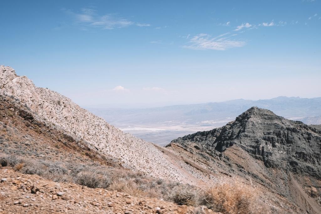 Une des vues depuis Aguereberry point