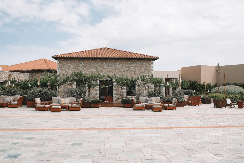 L'architecture typique de la région de Messénie