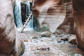 Kanarra Falls, une randonnée les pieds dans l'eau en Utah